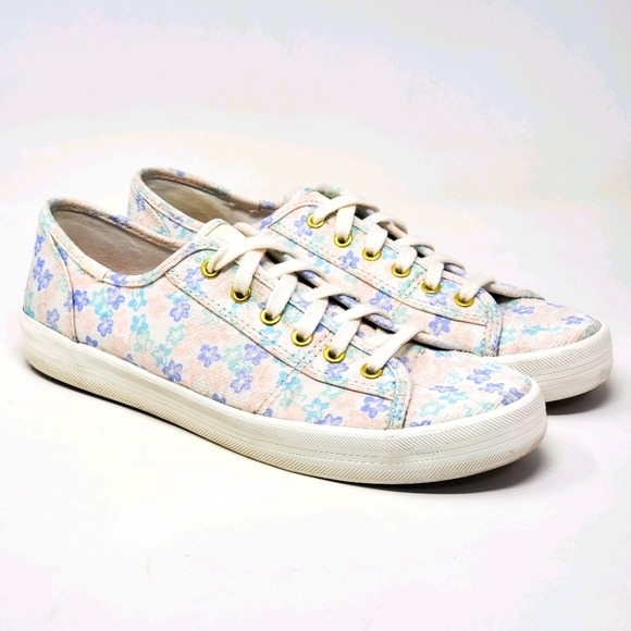 Keds Ortholite Pastel Floral Canvas Sneakers